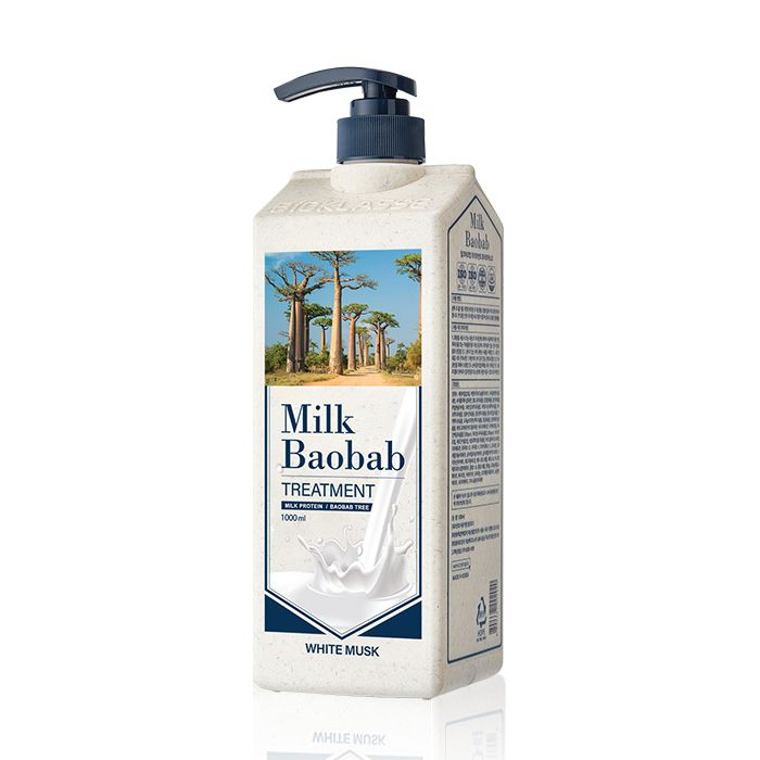 Купить Бальзам для волос MilkBaobab Perfume Treatment White Musk (500 мл), MILK BAOBAB