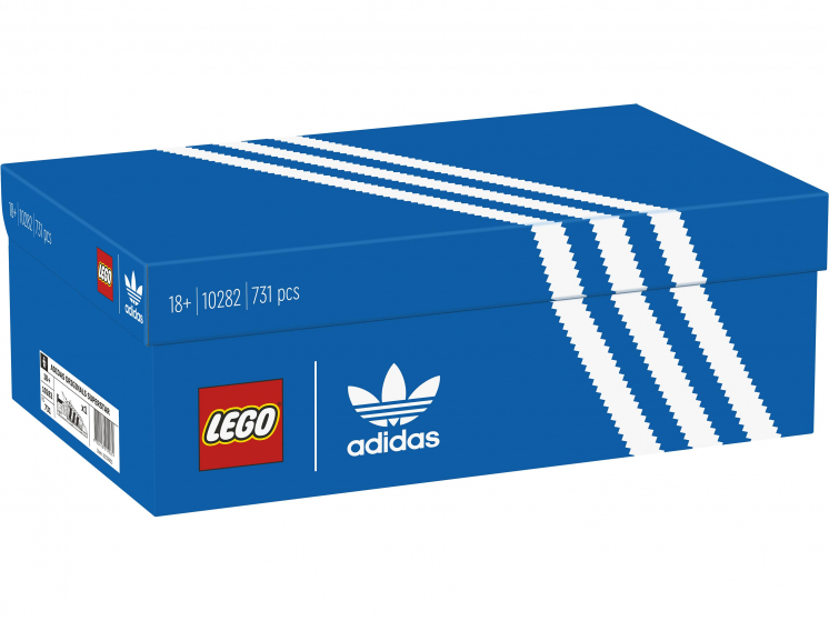 Конструктор Lego Коллекционные наборы Кроссовки adidas Originals Superstar 10282