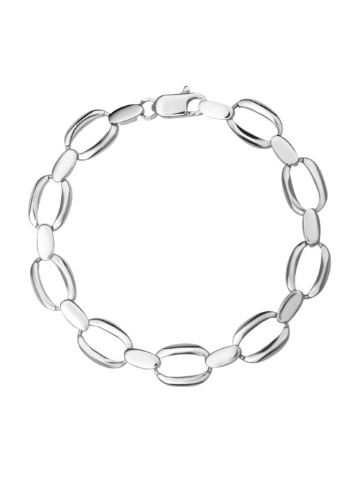 Браслет женский TOP CRYSTAL 40871024 из серебра, р. 18