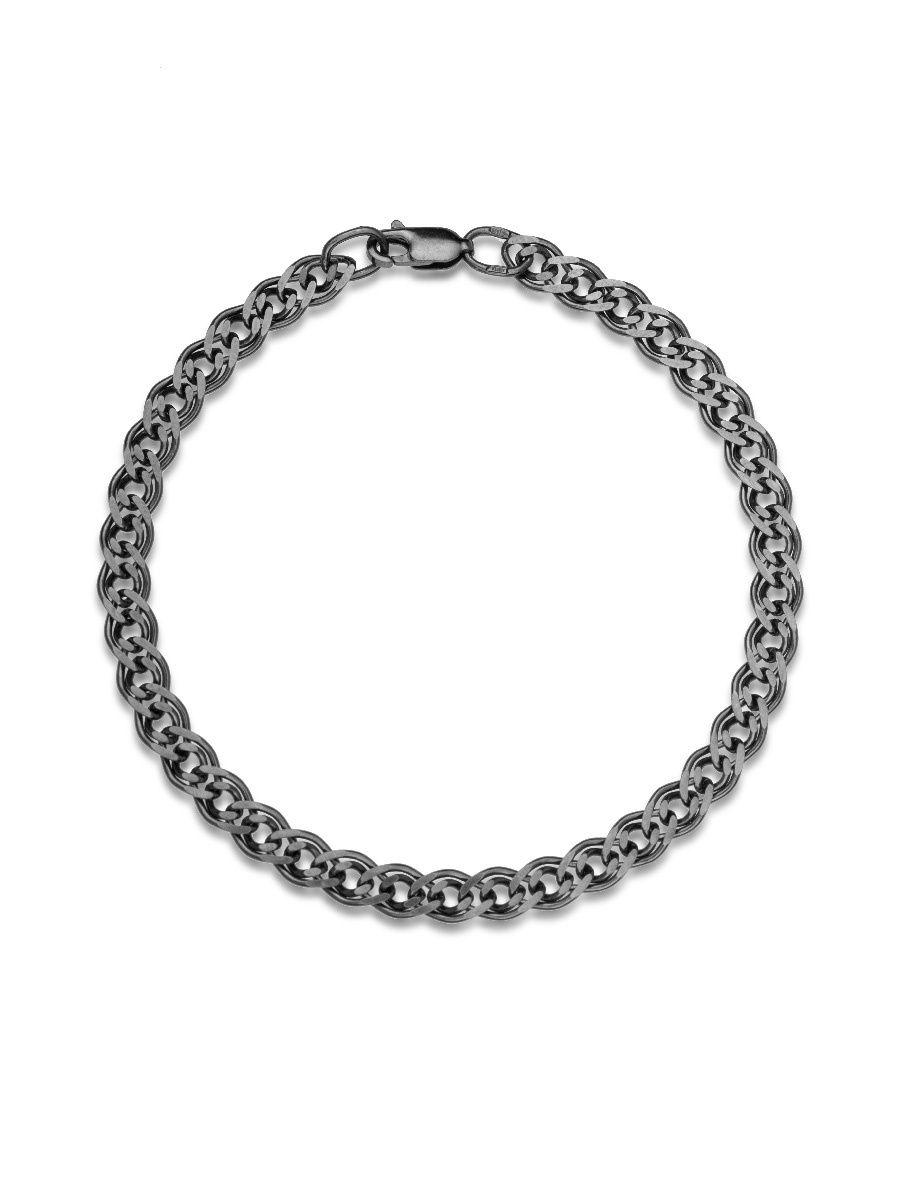 Браслет TOP CRYSTAL 40676174 из серебра, р. 16
