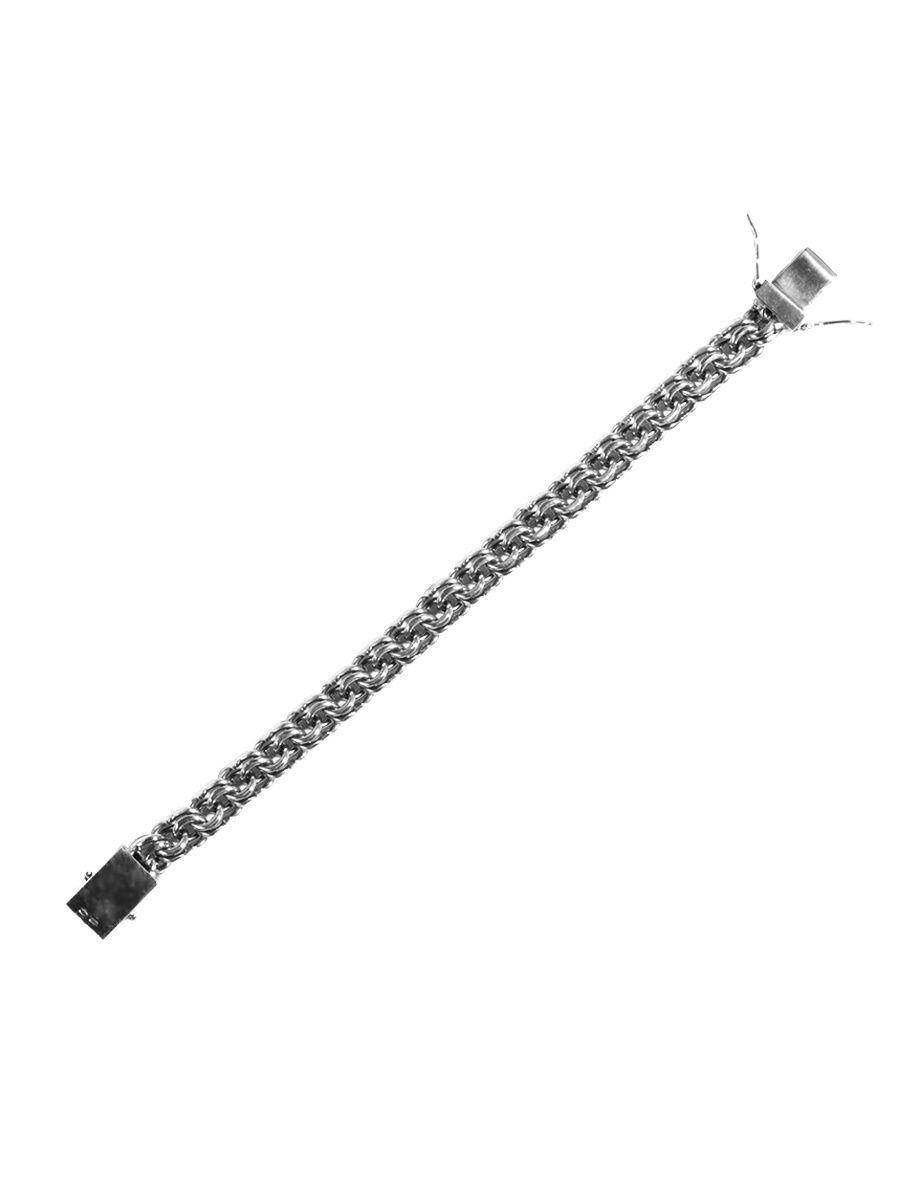 Браслет унисекс TOP CRYSTAL 40572017к из серебра, р. 22