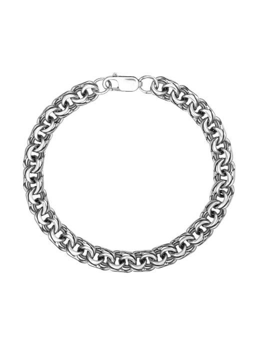 Браслет TOP CRYSTAL 40572013 из серебра, р. 22