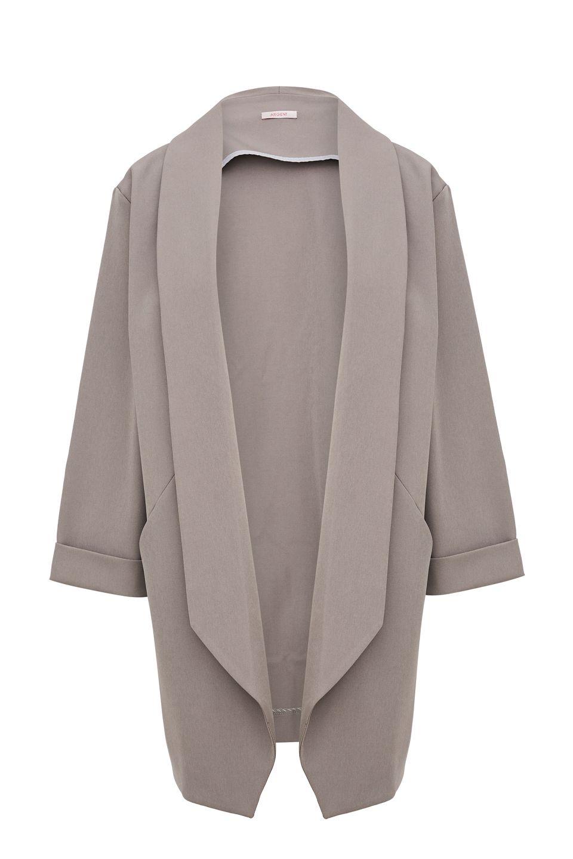 Пиджак женский Argent VLJ901430 серый 50 RU