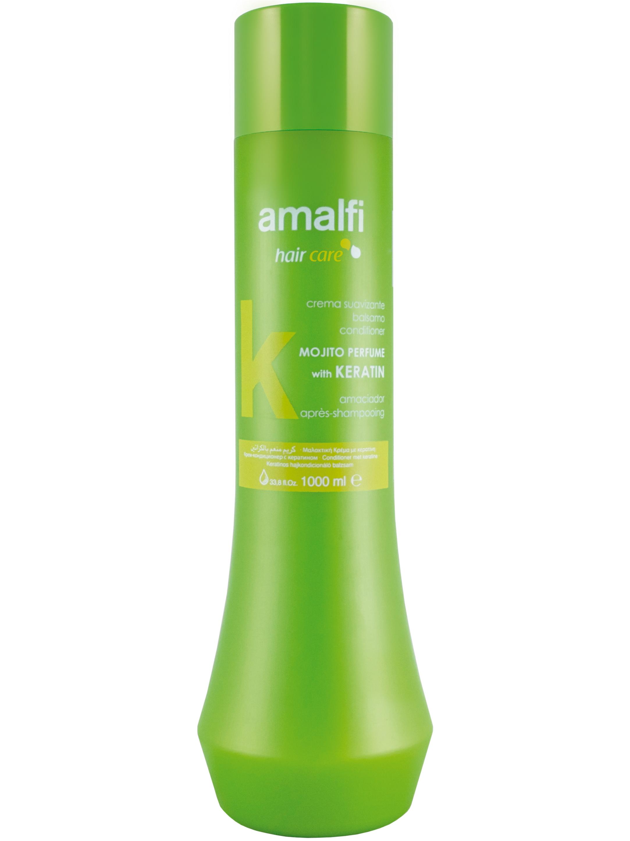 Купить Кондиционер для ухода за волосами AMALFI с кератином mojito 1000 мл, Amalfy