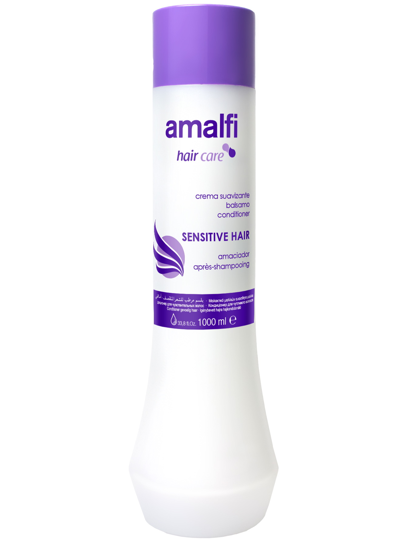 Кондиционер для ухода за волосами AMALFI sensitive hair 1000 мл, Amalfy  - Купить