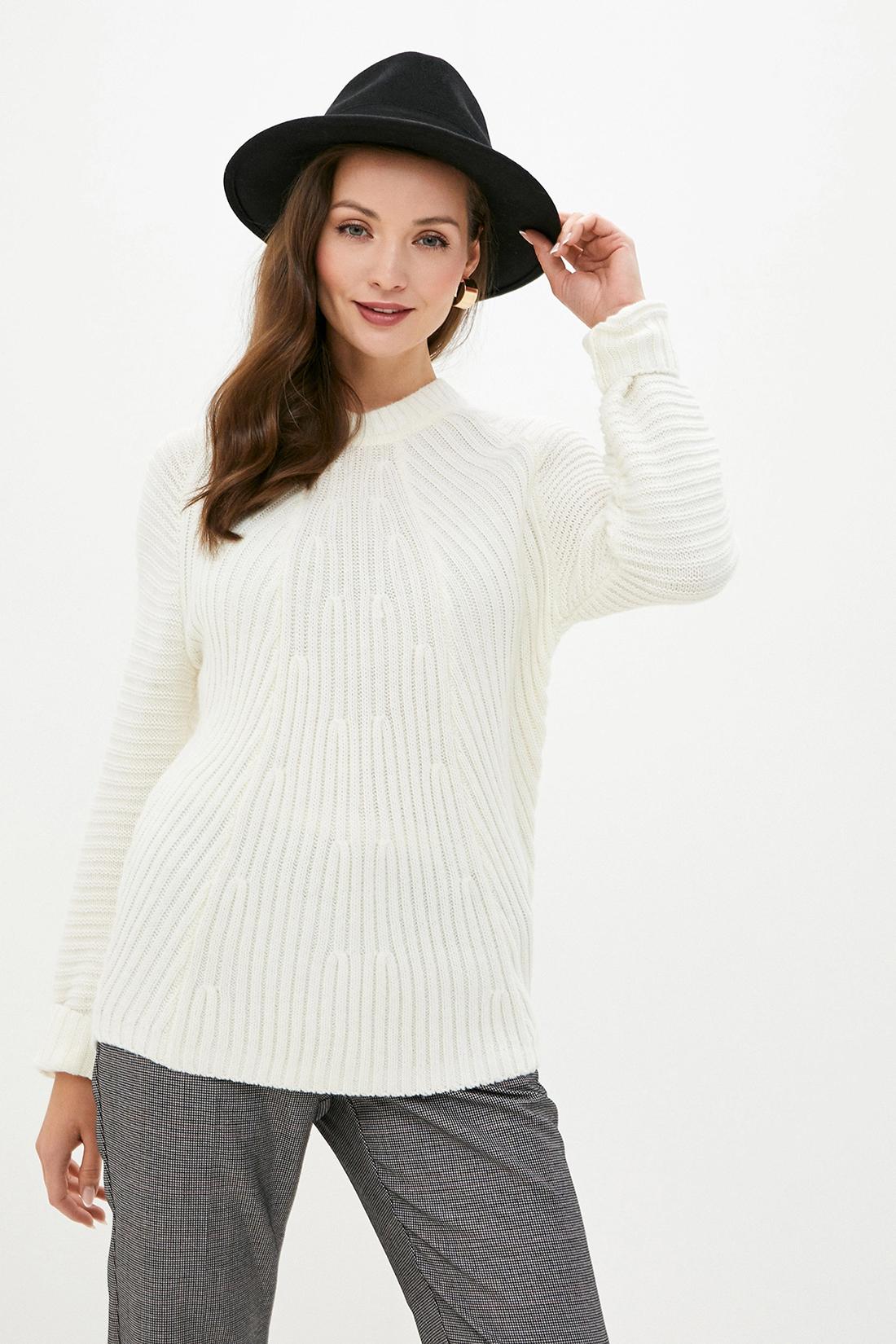 Джемпер женский Baon B139559 белый XS