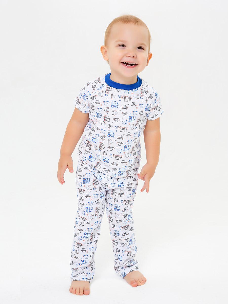 Пижама футболка брюки SLEEPY CHILD размер 122 Котмаркот 2850715