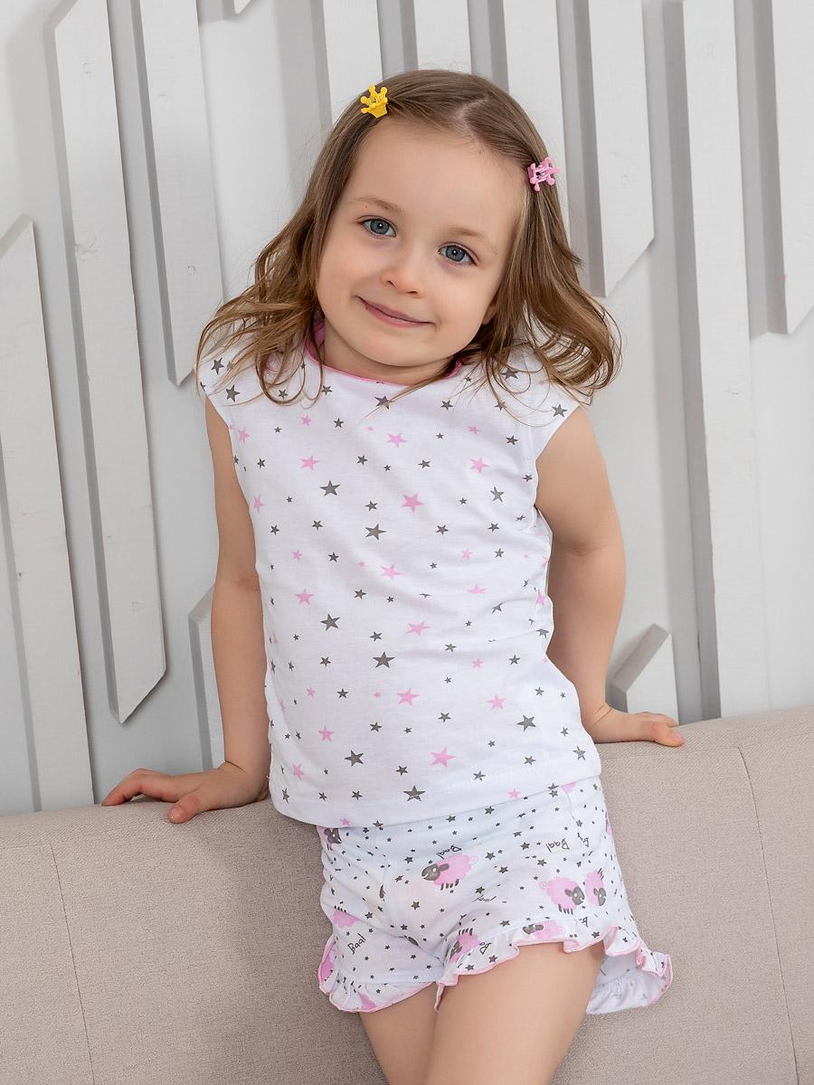 Пижама футболка шорты SLEEPY CHILD размер 110 Котмаркот 2800496
