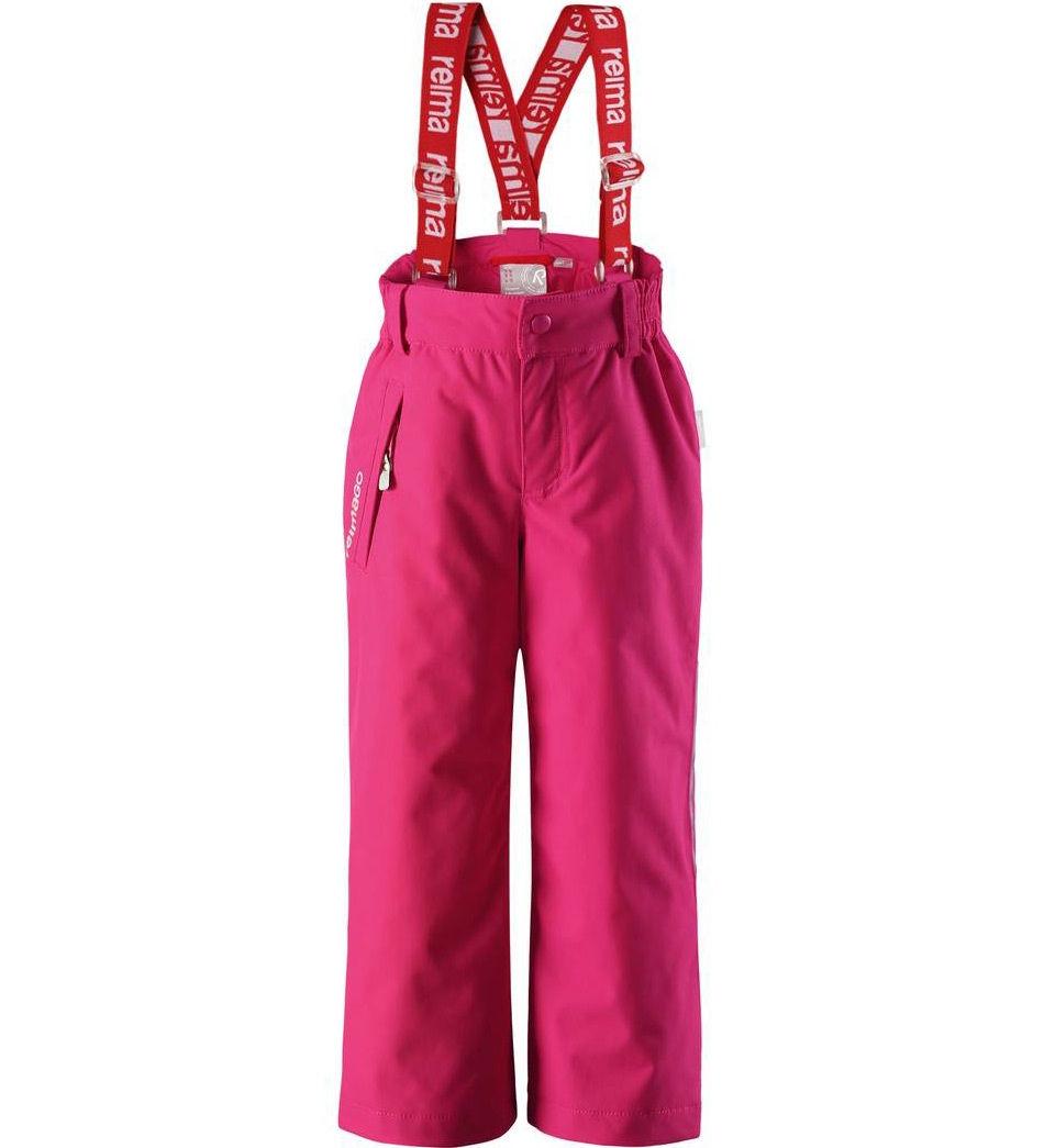 Брюки для девочек Reima цв. розовый р-р. 116 522241-3560