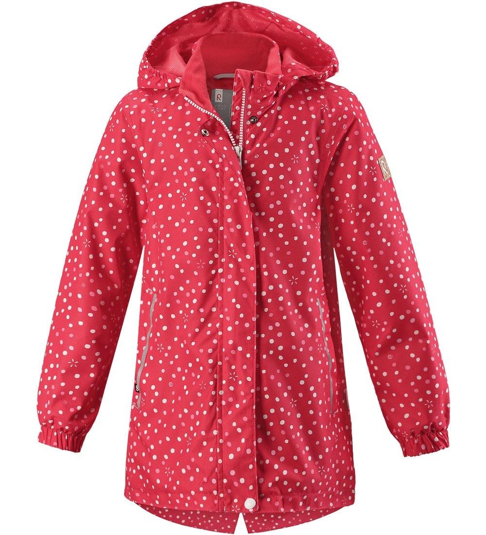 Куртка для девочек Reima цв. розовый р-р. 122 521538-3342