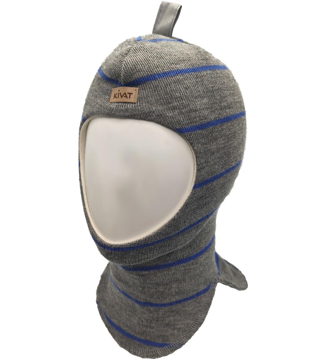 Купить 496 (81/62), Шлем для мальчиков Kivat цв. серый р-р. 2,