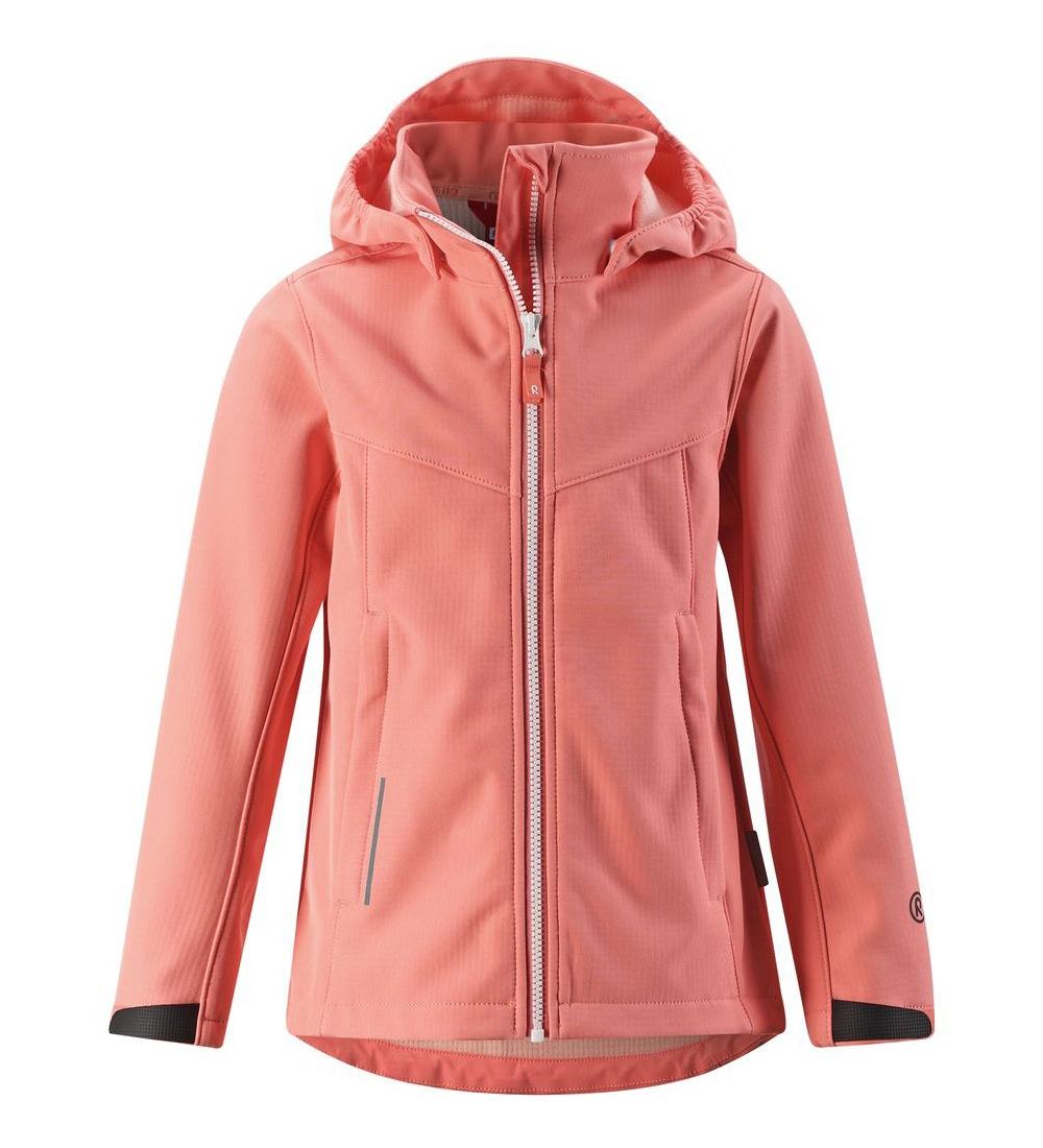Куртка для девочек Reima цв. розовый р-р. 134 531380-3160
