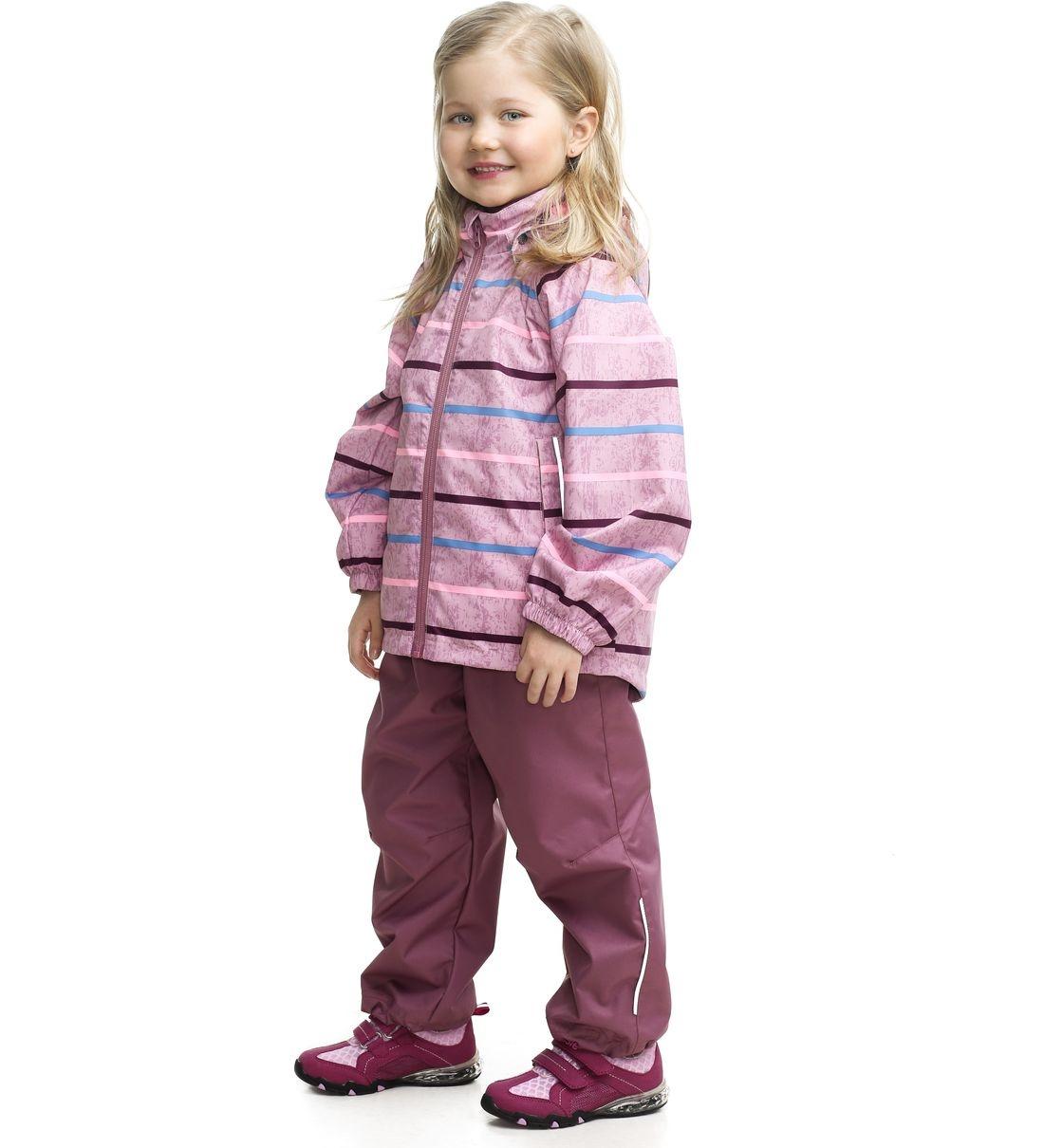 Купить 723742R-4221, Комплект куртка + брюки для девочек Lassie цв. розовый р-р. 122,