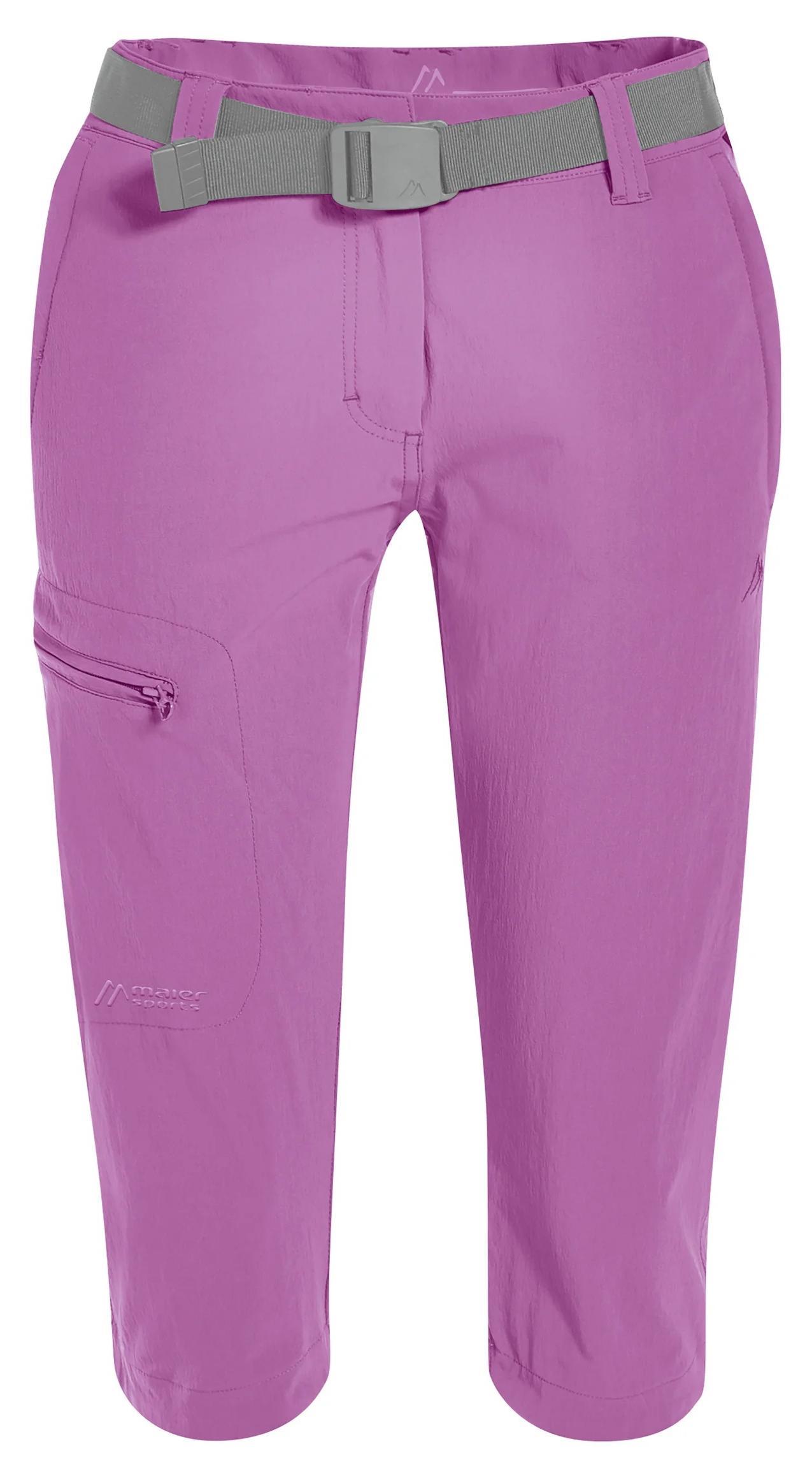 Шорты женские Maier Sports 231007_0143 фиолетовые 42 EU