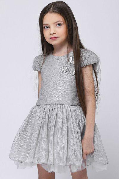 Платье Amigo7seven цв. серый р.80 92