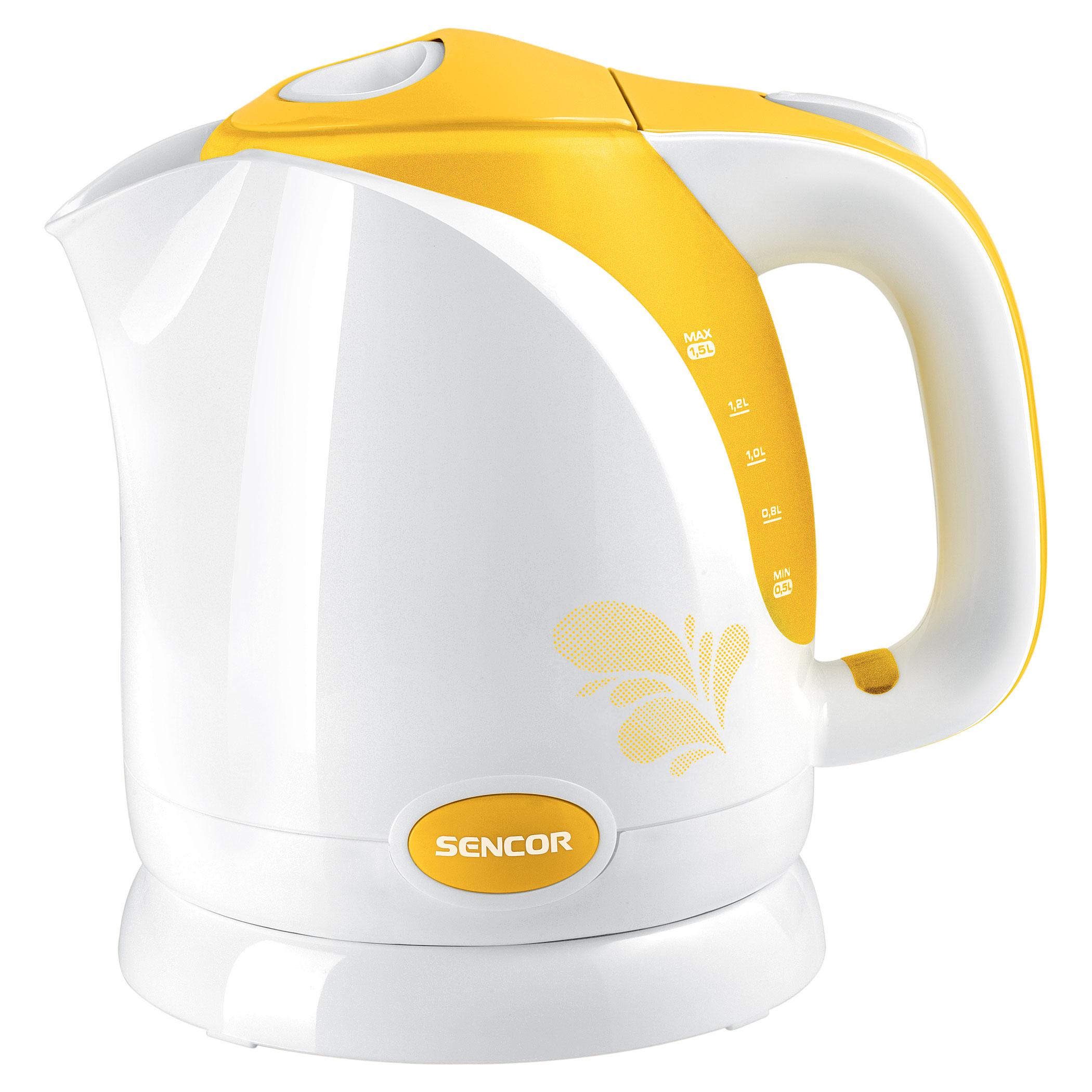 Чайник электрический Sencor SWK 1506YL