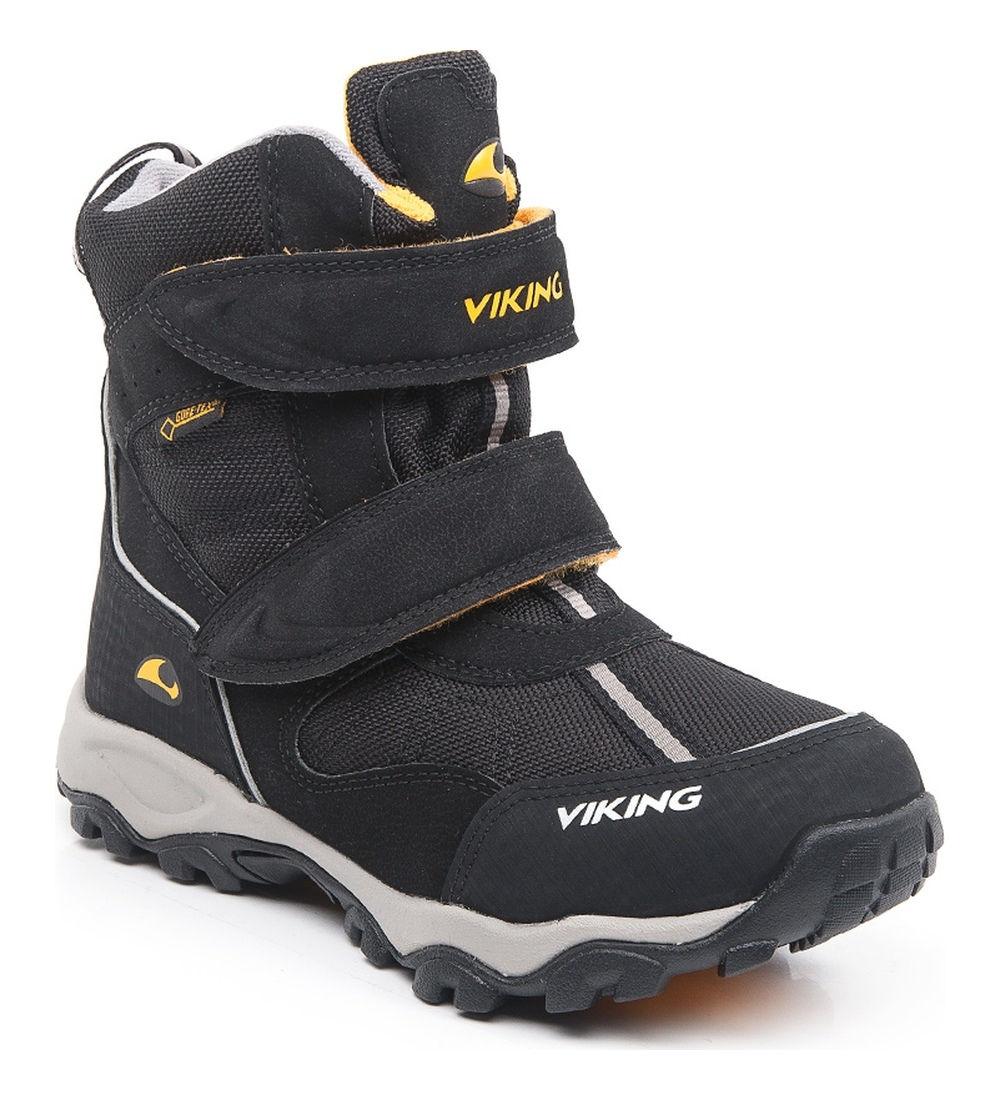 Купить 3-82500-203, Ботинки для детей Viking цв. черный р-р. 31,