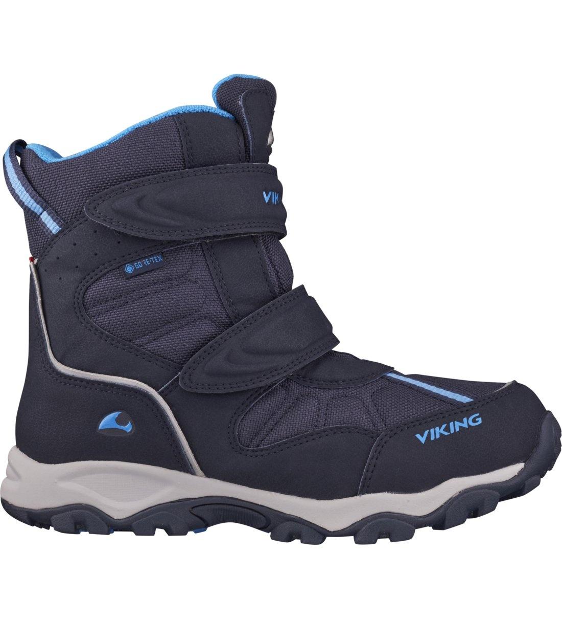 Купить 3-82500-00005, Ботинки для детей Viking цв. синий р-р. 39,