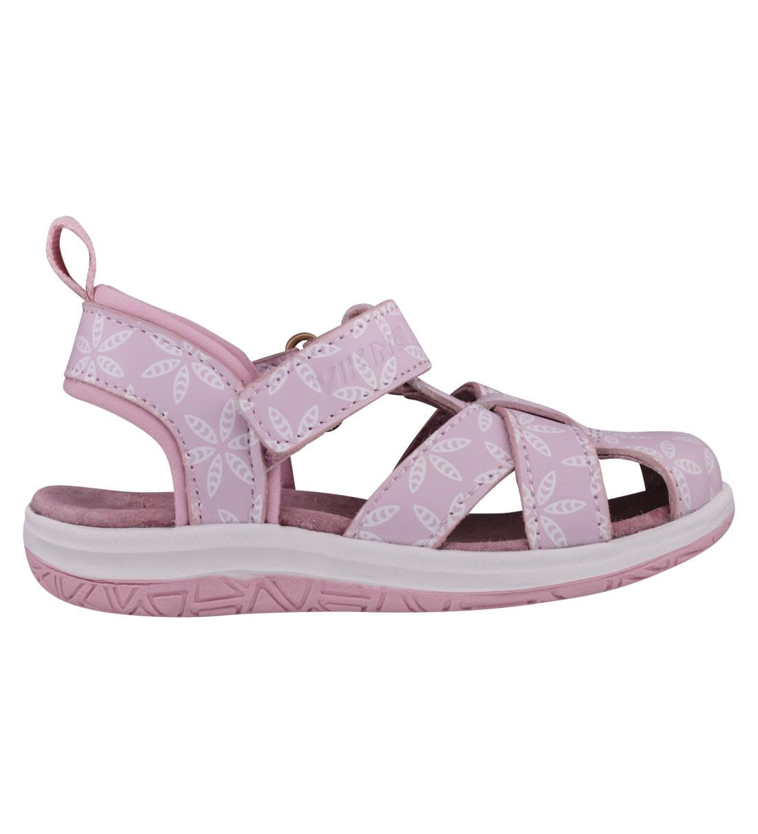 Купить 3-50612-98, Сандалии для девочек Viking цв. розовый р-р. 28,