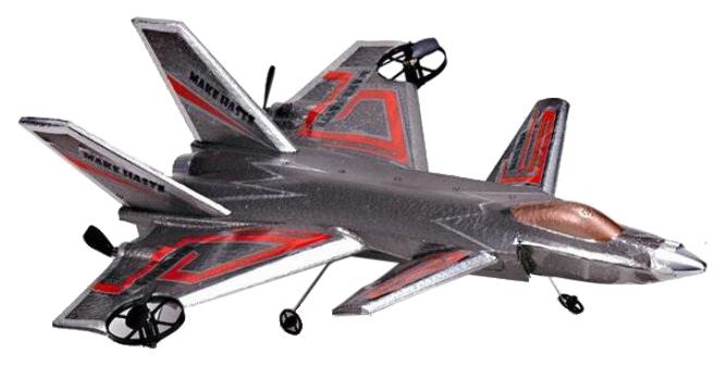 Самолет радиоуправляемый Urumqi oubaloon 36x33x10 см