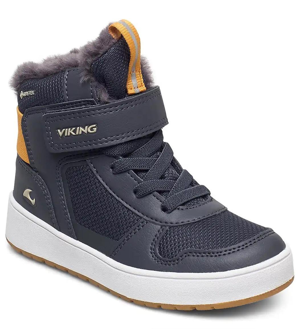 Купить 3-90170-505, Ботинки для детей Viking цв. синий р-р. 37,