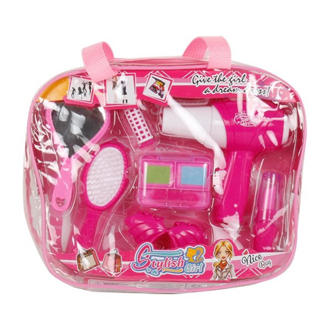 Купить Набор парикмахера игрушечный Наша Игрушка 7 предметов, сумка 200644892, Наша игрушка,
