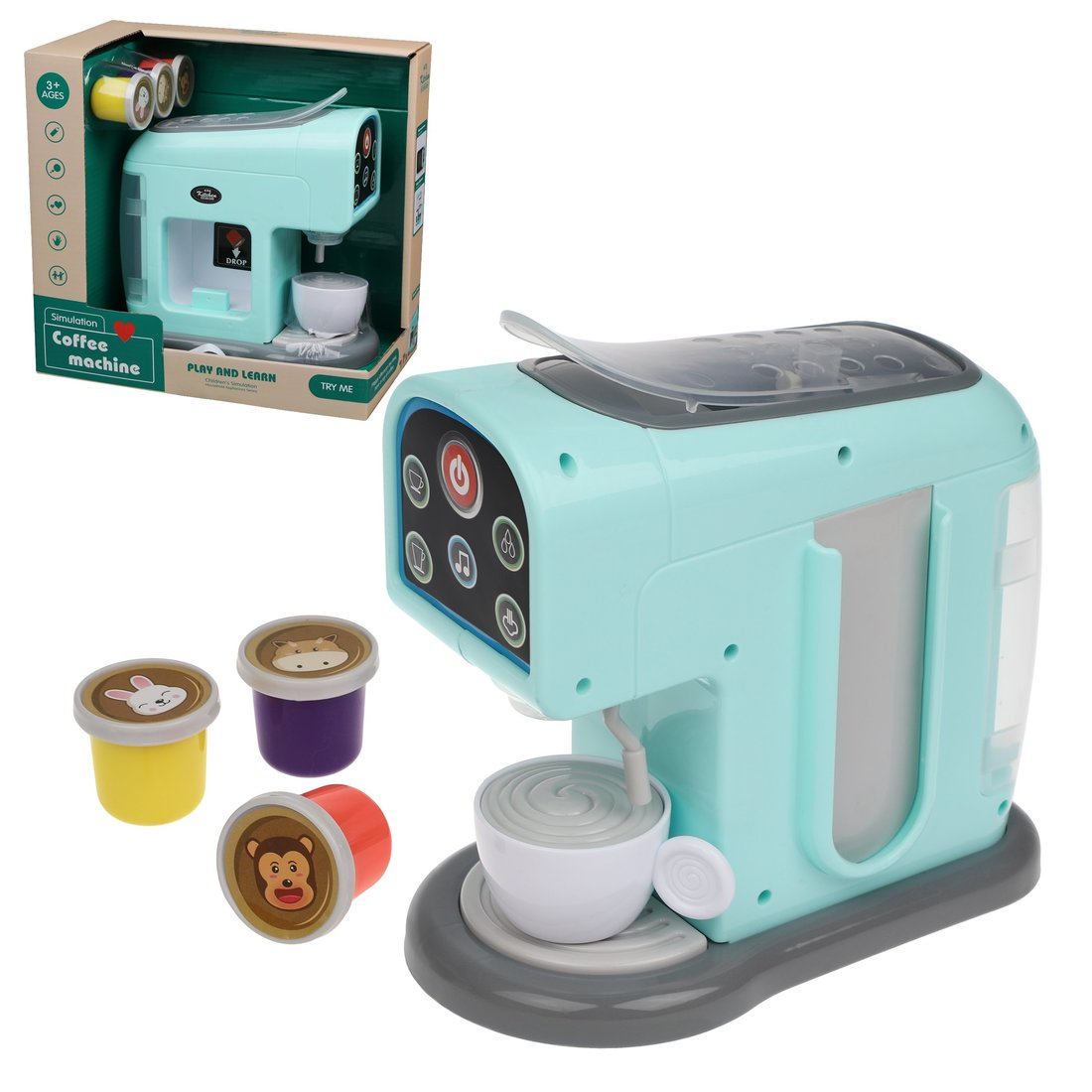 Кухонная техника Наша Игрушка 4 предмета, свет, звук 998-2