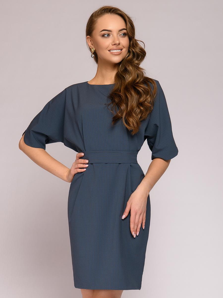 Повседневное платье женское 1001dress 0112001-01652DG синее 40