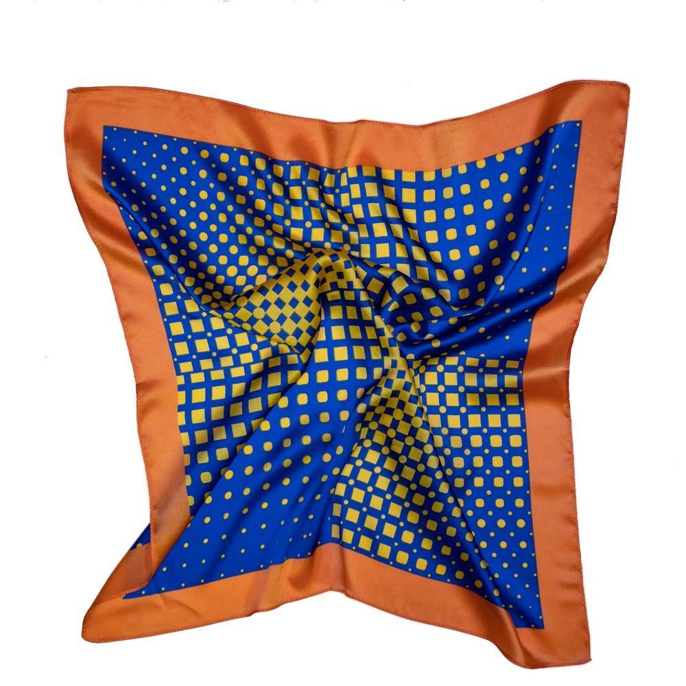 Шейный платок женский OTOKODESIGN 53995 разноцветный, 60x60 см