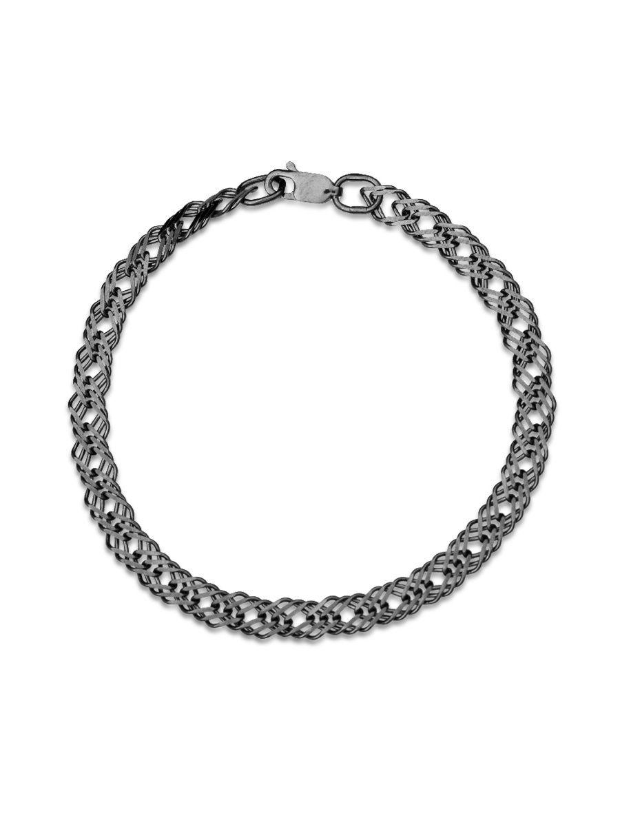 Браслет TOP CRYSTAL 40676163 из серебра, р. 20
