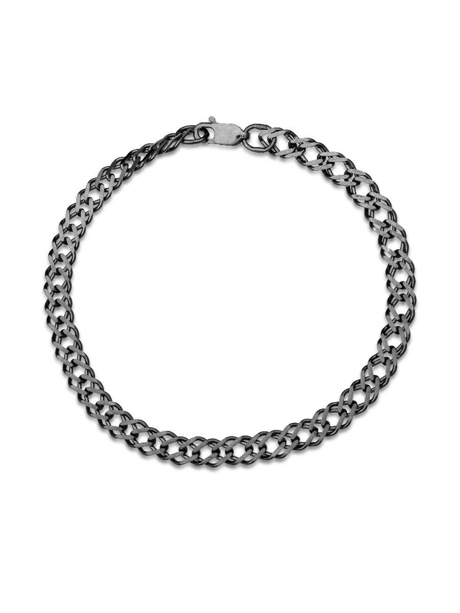 Браслет TOP CRYSTAL 40676157 из серебра, р. 17