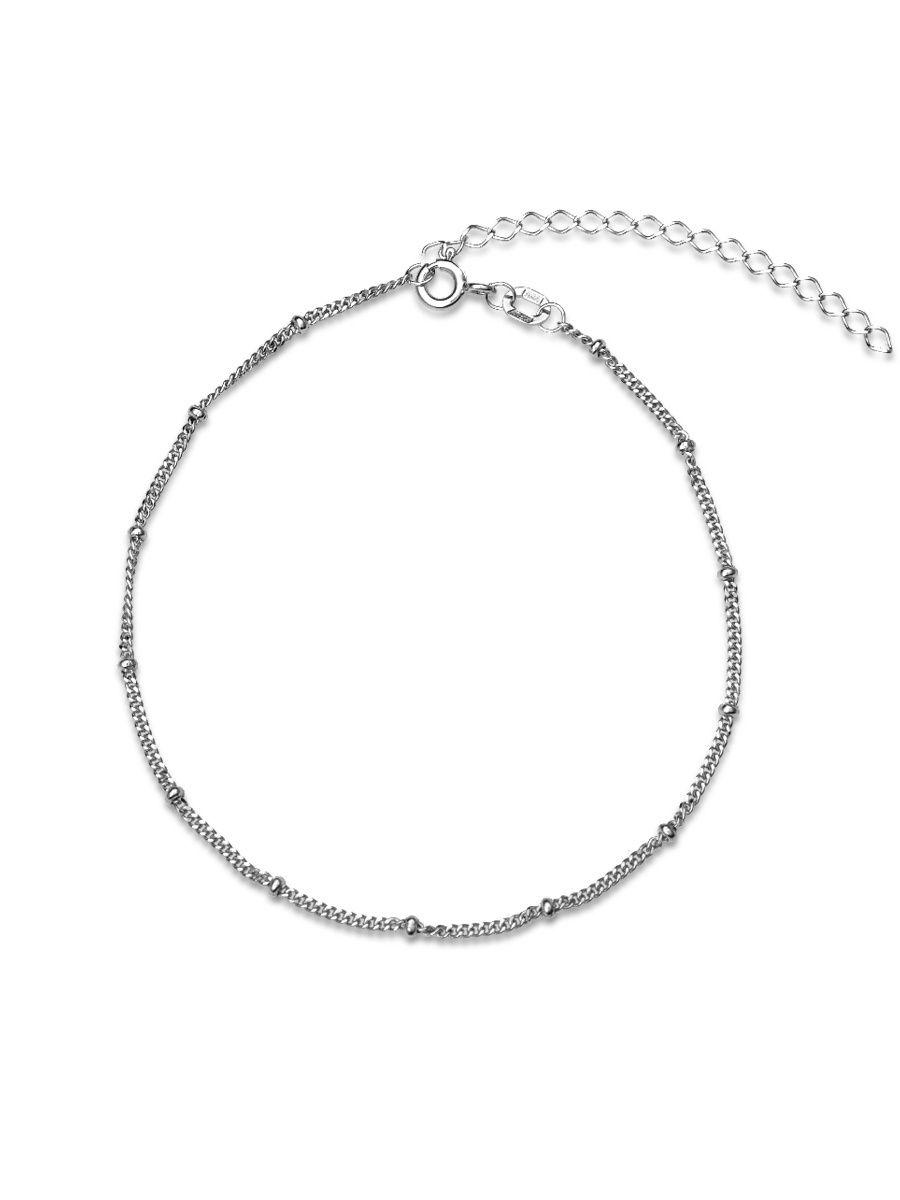 Браслет женский TOP CRYSTAL 40675703 из серебра, р. 19