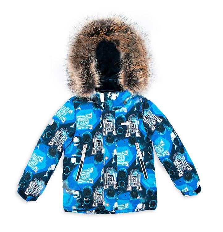 Купить Куртка KERRY k17440/2290, размер 110 синяя,