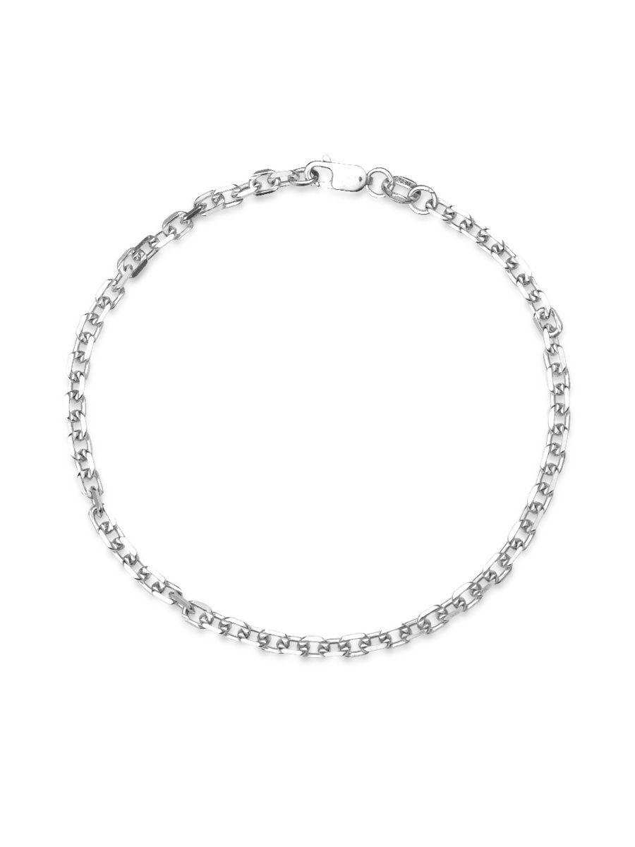 Браслет женский TOP CRYSTAL 40675181 из серебра, р. 19