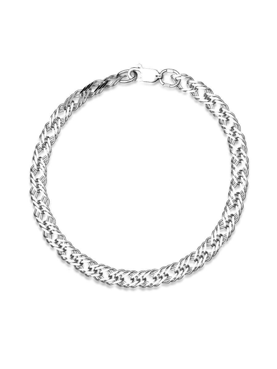 Браслет женский TOP CRYSTAL 40675163 из серебра, р. 17