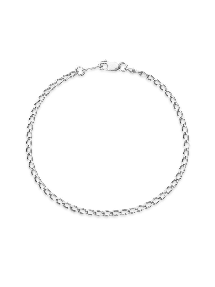Браслет женский TOP CRYSTAL 40675123 из серебра, р. 19
