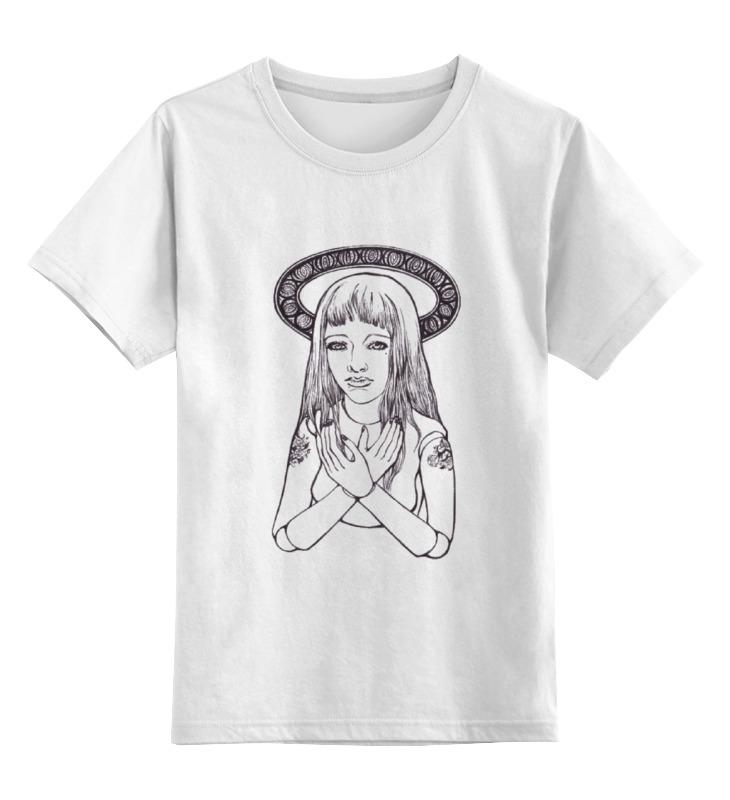 Детская футболка Printio Ball jointed doll цв.белый р.140 0000000794943 по цене 790