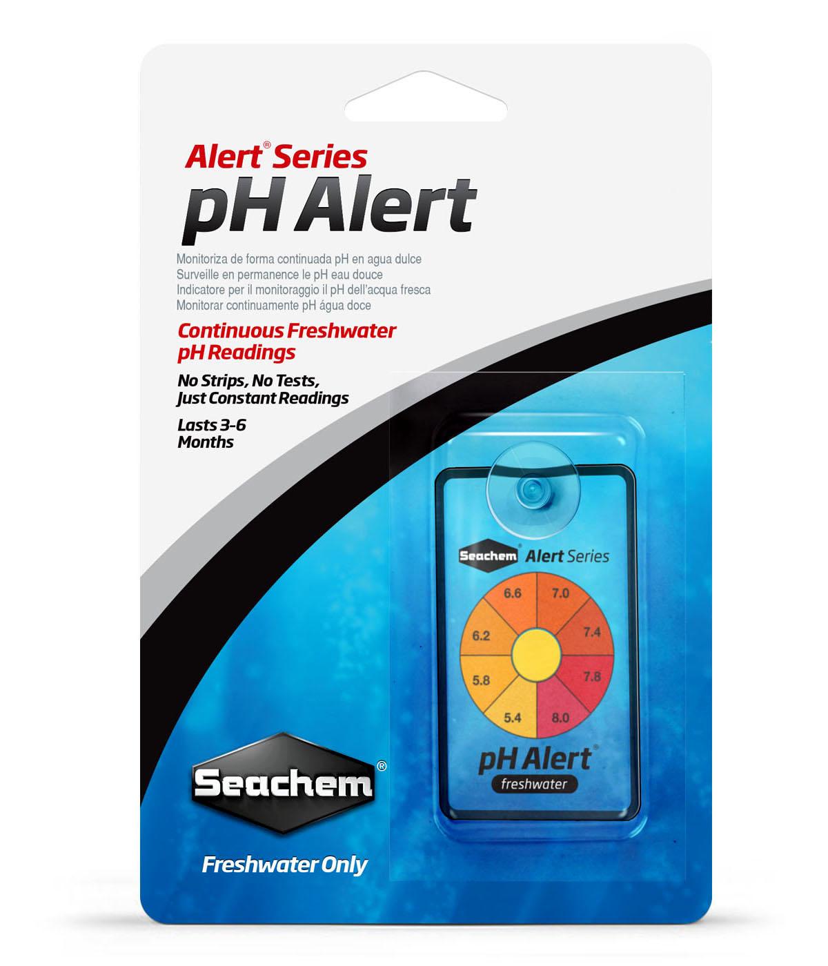 Тест Seachem pH Alert для использования