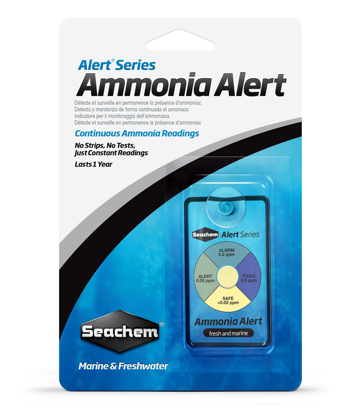 Тест Seachem  Ammonia Alert для использования