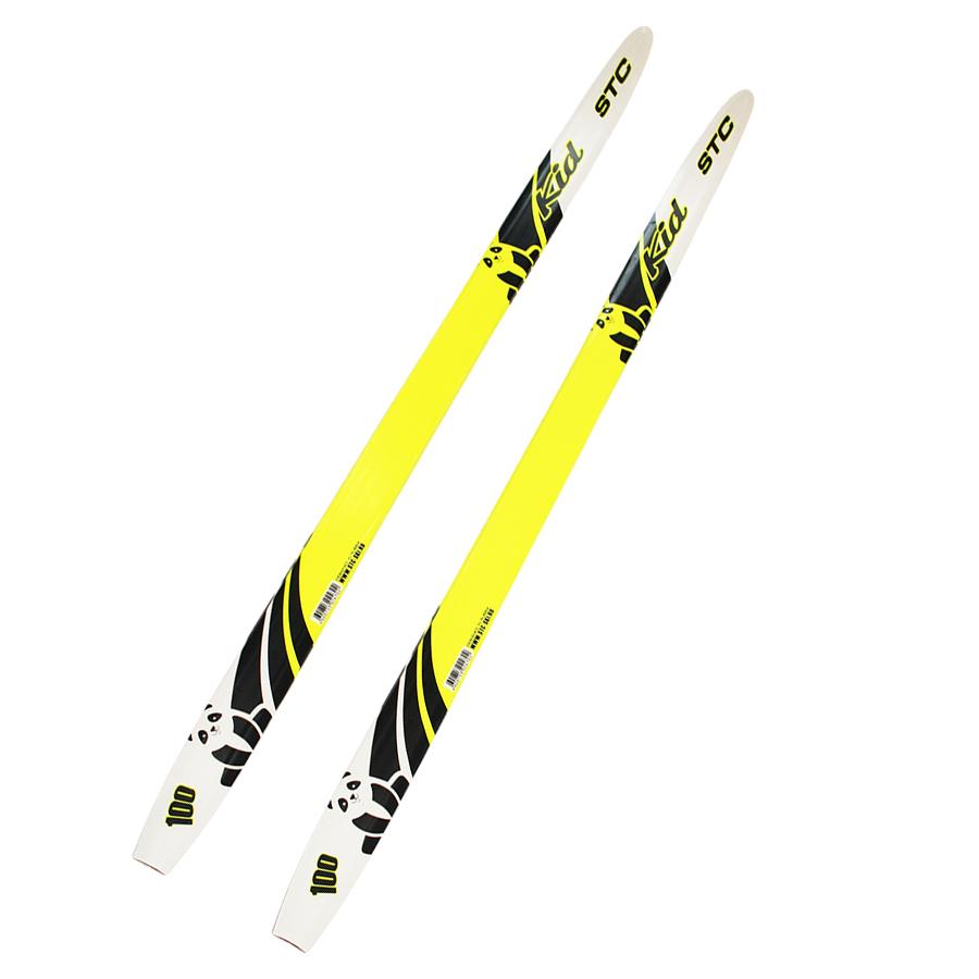 Беговые лыжи STC Kid 2020, lemon, 110 см