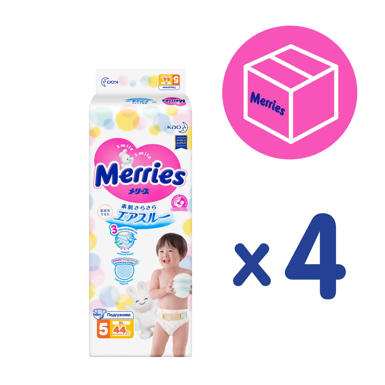 Купить Merries Diapers, Подгузники Merries XL (12-20 кг), 176 шт.,