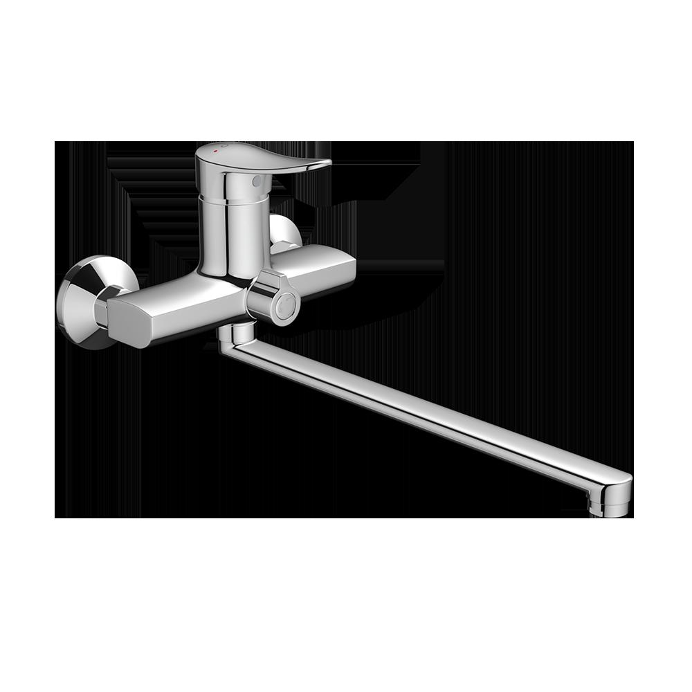 Смеситель для ванны и душа Dorff Ultra D5095000 с длинным изливом
