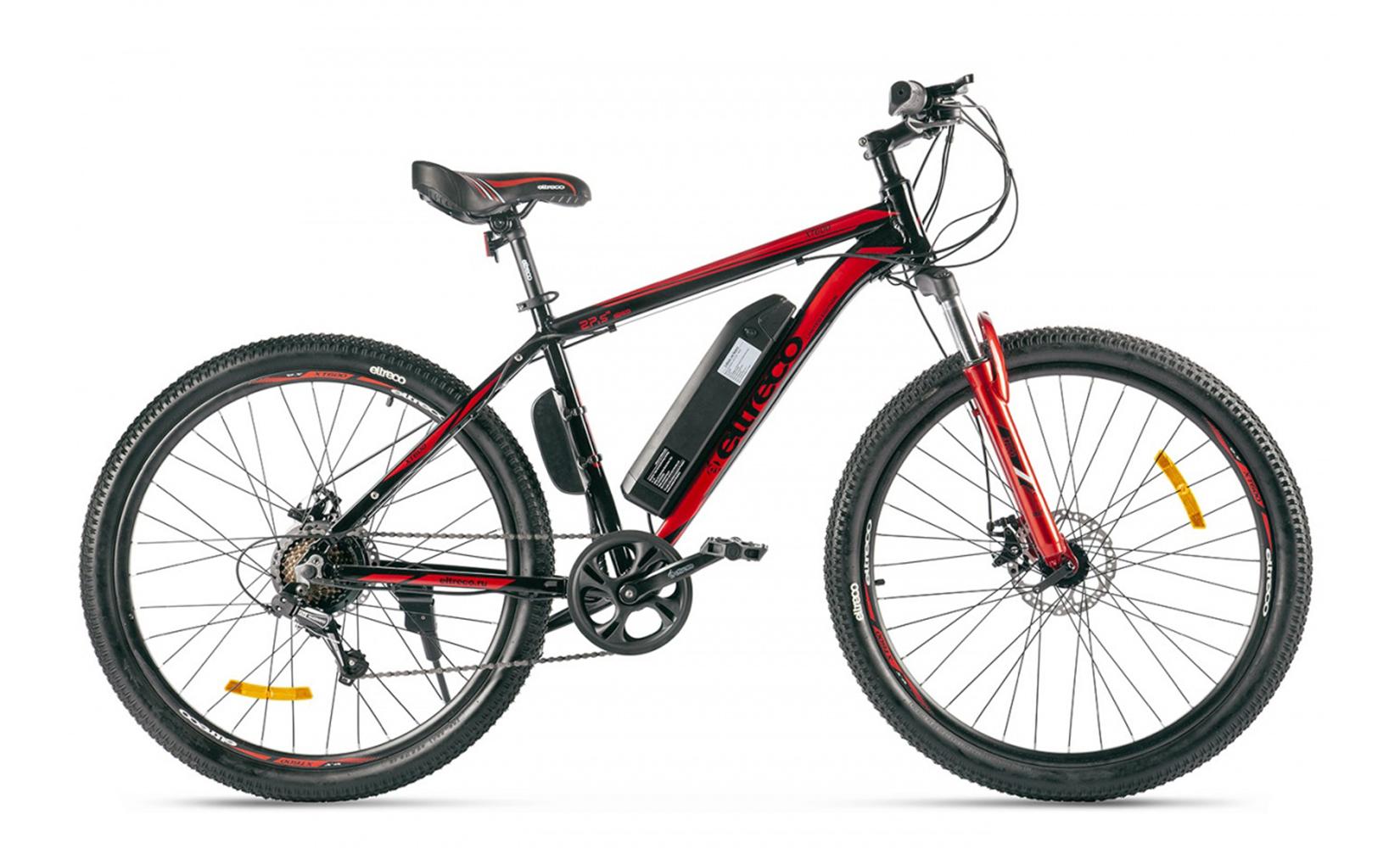 Электровелосипед Eltreco XT 600 Limited edition (2020) (Черный)