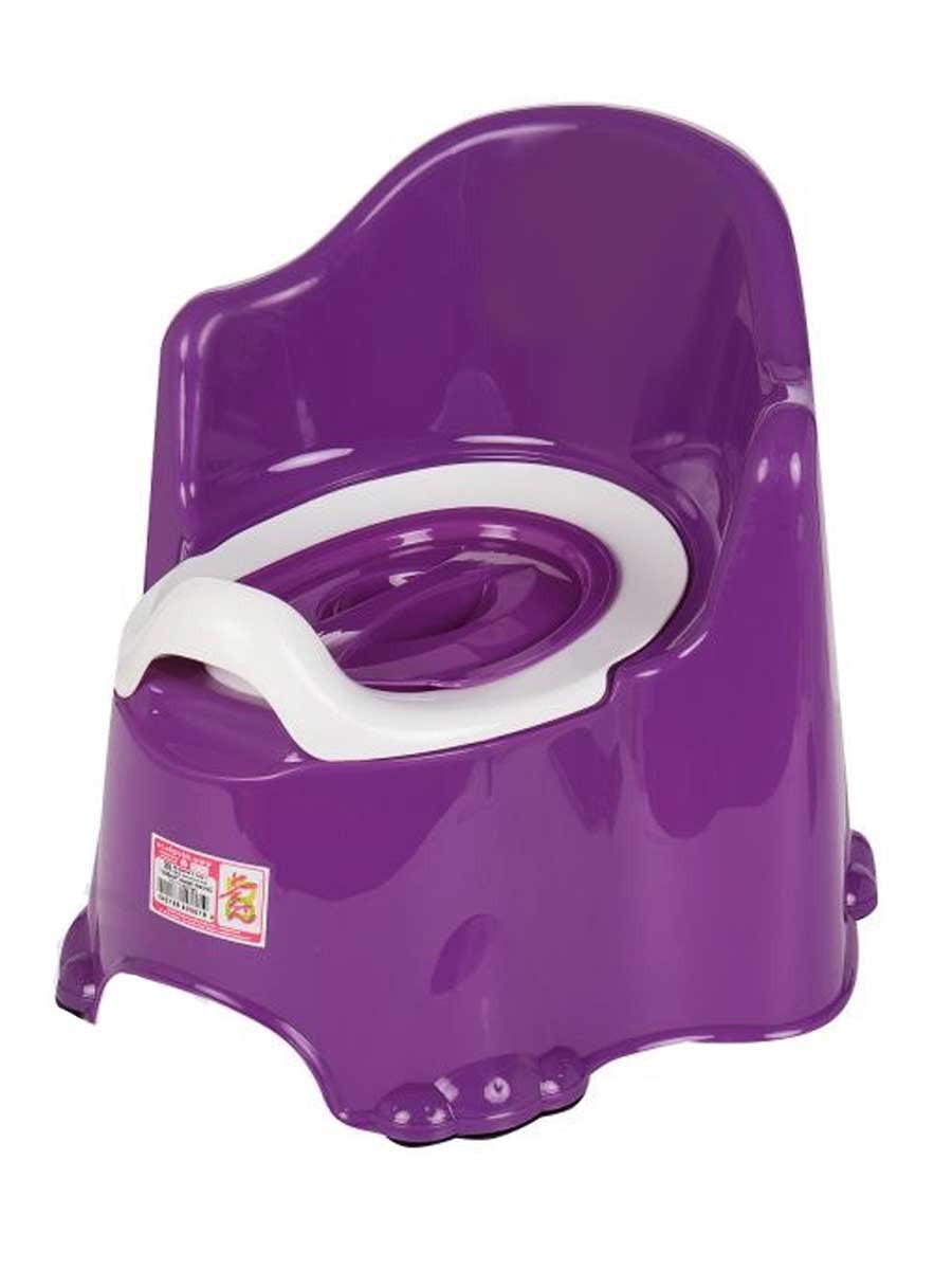 11111/фиолетовый Детский горшок
