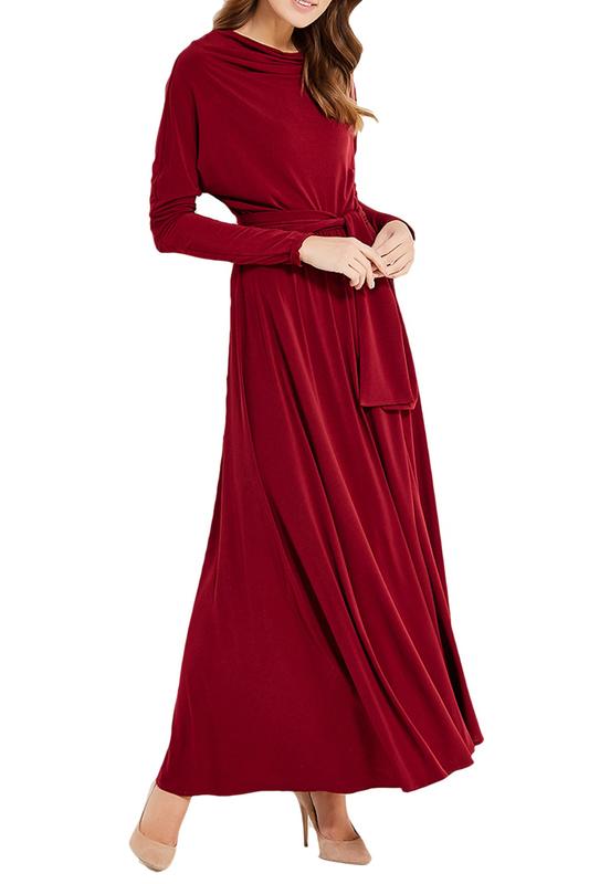 Платье женское Alina Assi MP002XW1AJFS красное M, MP002XW1AJFS