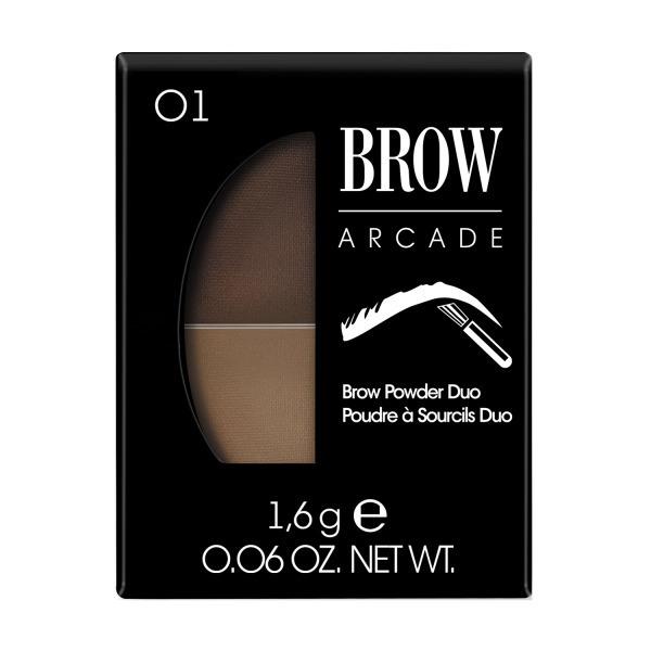 Купить Тени для бровей Vivienne Sabo Brow Arcade, тон 01, тени для бровей двойные 'Brow Arcade'