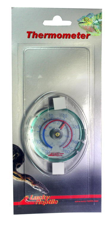 Термометр для террариумов Lucky Reptile стеклянный, механический фото