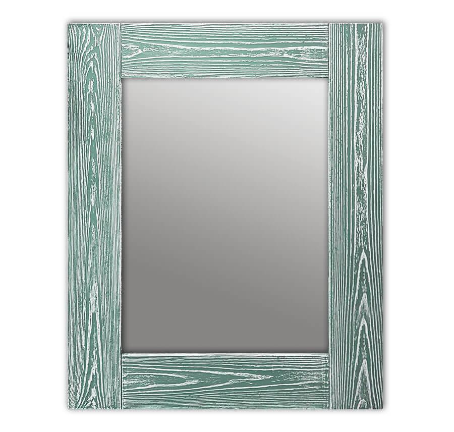 Зеркало Шебби Шик Зеленый Прямоугольное 75х170 см