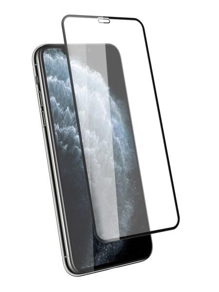 Стекло защитное для Apple iPhone X/XS/11 Pro Mietubl 0,33mm черный