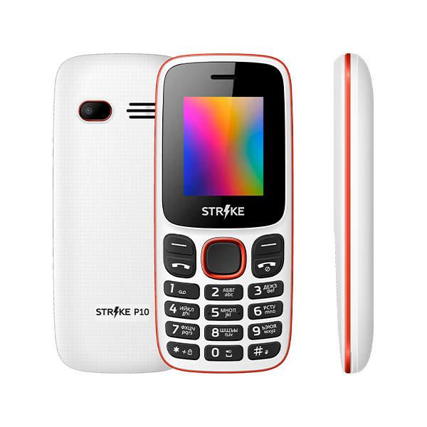 Мобильный телефон STRIKE P10 White
